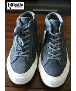 Converse Mens One Star Mid Counter Climate High Top Gray 158833C Sizes 7... - $59.99
