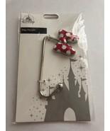 Disney Parks Authentic Minnie Mouse Bow Handbag Hanger Metal New Sealed - $13.36