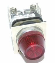 ALLEN BRADLEY 800T-Q24 PILOT LIGHT 800T-Q24 SER. T LAMP NO. 757 WITH RED LENS