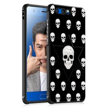 Embossment TPU Cell Phone Case for Huawei Honor 9 - Skulls Pattern - $7.23