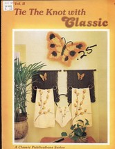 Tie The Knot with Classic Vol II Macrame Pattern Leaflet 5 Designs - $1.77