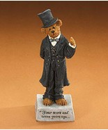 """Boyds Bearstone """"Abearham Lincoln Four Score & Seven Years Ago"""" #2277811... - $79.99"""