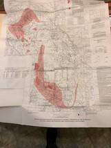 Vintage Survey Map - Black Hills South Dakota & Wyoming     (Reference #... - $10.00
