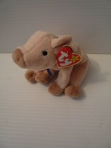 TY Beanie Babies Original Plush Pink Pig Knuckles1999 Retired Mint - $3.86