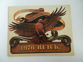 Vintage 1976 Buick 73 Page Buyer's Guide - $29.99