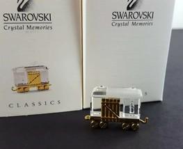 Swarovski Crystal Memories Classics Freight Car 9460 000 082 / 219194 W/Box - $69.29