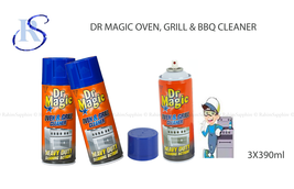 3 X Dr Magic Oven, Grill & Bbq Cl EAN Er Heavy Duty Action Cl EAN Ing Spray 390ml - $12.51