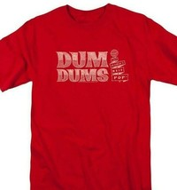 Dum-Dums T-shirt Worlds Best Pop retro candy classic lollipop tee DUM112 Red image 1