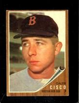 1962 Topps #301 Galen Cisco Vgex (Rc) Red Sox *XR22101 - $3.00