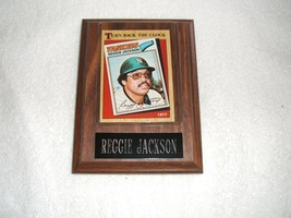 Reggie Jackson picture plaque as a NY Yankee with free shipping - $25.00