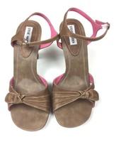 Steve Madden Women's High Heel Shoes Brown Leather Upper Ladonna 9B New! - $24.79