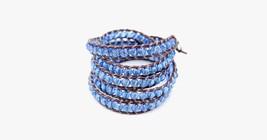 Blue Twist Vintage Bracelet - $5.99