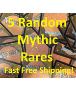 FIVE (5) Random Magic: The Gathering MTG Mythic Rare Cards Lot - Mythics Only! - - $7.85