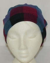 Howards Arianna Collection Buffalo Plaid Convertible Hat Adult Blues image 1