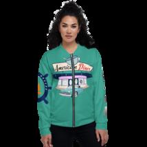 SALINA DI ANGERA GIACCONE BOMBER UNISEX modello AMERICAN DINER in 3 colori - $81.88