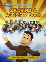 Brother Francis The Saints Coloring & Activity Book Children's Brand NEW - $8.20
