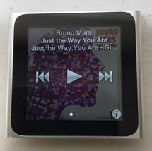 Apple 8GB iPod Nano - 6th Generation - Silver - MC525LL / A1366 Used Working - $59.95