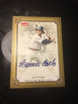 AAR1 Bernie Carbo Auto - Boston Red Sox - 2004 Fleer Greats Autograph - $9.74