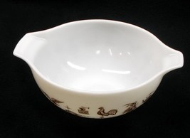 Pyrex 'Early American' # 443 Cinderella Style Nesting Mixing Bowl - No R... - $17.95