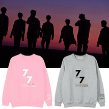 KPOP GOT7 Sweater 7FOR7 YOU ARE Hoodie Jackson JaeHyun Sweatershirt Chen... - $12.19+