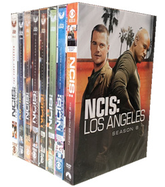 NCIS: Los Angeles The Complete Seasons 1-8 DVD Box Set 48 Disc Free Shipping