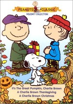 Peanuts Holiday Collection Christmas/Thanksgiving/It's the Great Pumpkin DVD set