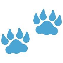 LiteMark 4 Inch Ice Blue Lion Tracks - Pack of 30 - $27.95