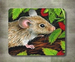 Mousepad Mouse Pad Computer Mat Mouse 10 animal nature green art L.Dumas - $15.99