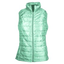 Sarah A Mearns Collection Kids Quilted Riding Vest size large Mint image 1