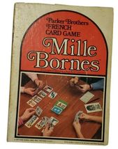 Mille Bornes Parker Brothers Vintage 1971 French Card Game Green Tray Ru... - $29.69