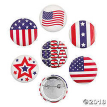 Patriotic Buttons - $7.74