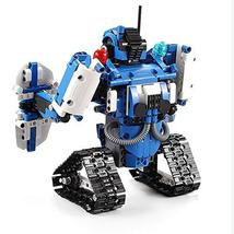 Mould King 2 in 1 Building Block Robot Policemen Toy with Remote Control Robot E image 7