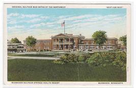 Sulphur Springs Resort Mudbaden Minnesota 1920s postcard - $5.45