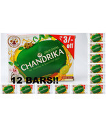 12 Bars Chandrika Original 125grams XXL Handmade Soap Healthy Beautiful ... - £18.46 GBP