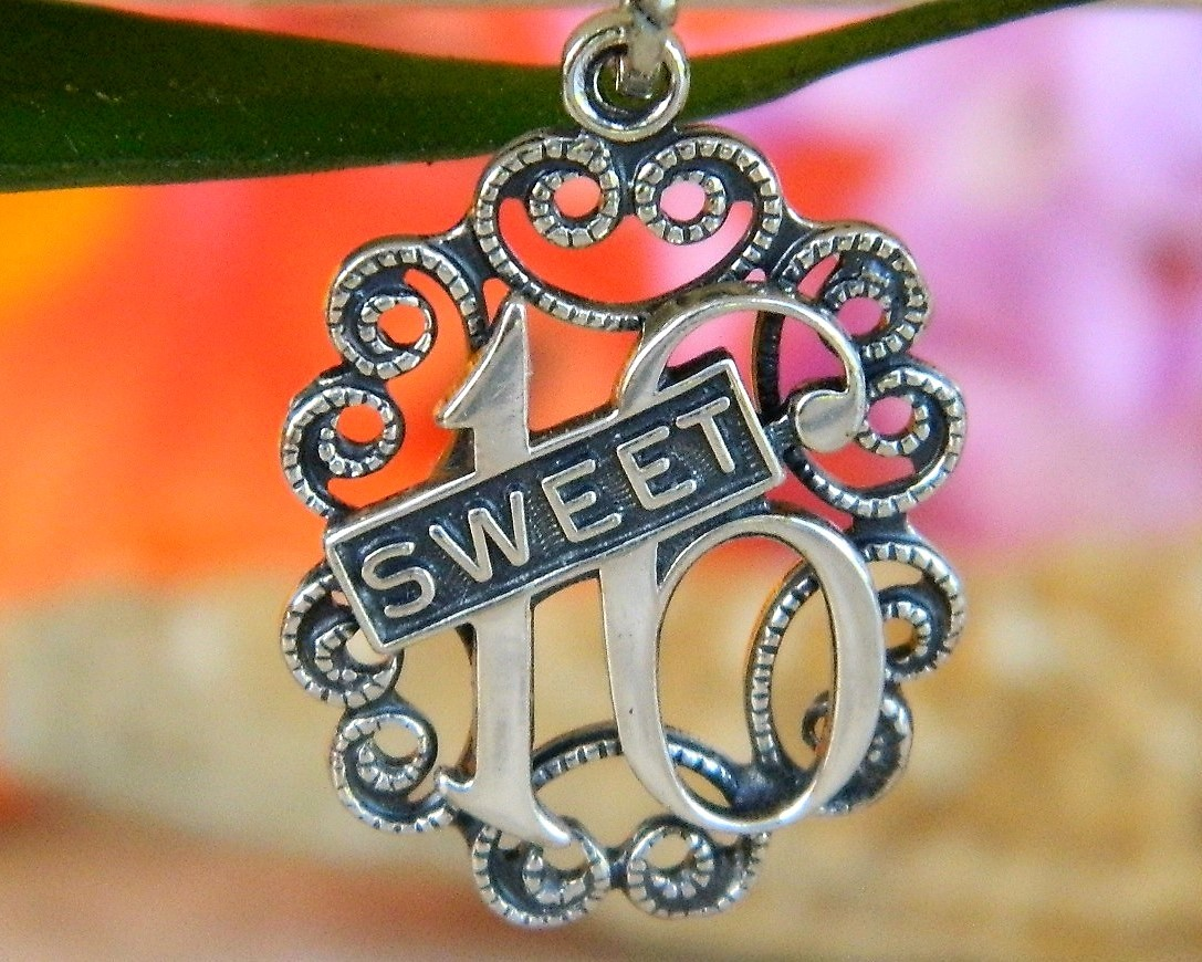 Vintage Sweet 16 Birthday Bracelet Charm And 14 Similar Items