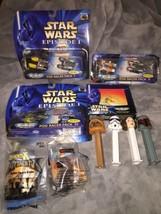 Lot Star Wars Episode I MicroMachines Naboo Fighter / Pod Racer Packs I,... - $15.79