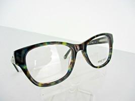 Nine West NW 5080 (322) Teal Tortoise 48 x 17 135 mm Eyeglass Frame - $58.87