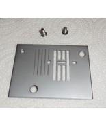 Euro Pro Shark 384 Zig Zag Throat Plate w/2 Mounting Screws Works - $15.00
