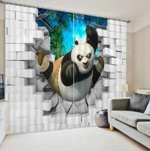 3D Panda 891 Blockout Photo Curtain Printing Curtains Drapes Fabric Window UK - $145.49+
