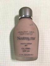 Discontinued Neutrogena Healthy Skin liquid Foundation SPF20 Warm Caramel 110 - $48.01