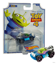 Hot Wheels Toy Story 4 Alien Character Cars 3/8 Mint on Card - $12.88