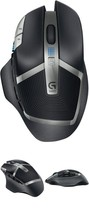 Gaming Mouse Wireless Black Programmable Buttons Long Battery Life  - €40,30 EUR