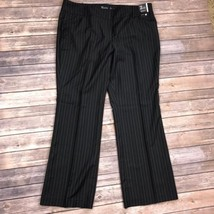 New York & Company Black Pinstripe Pants Size 1... - $17.34