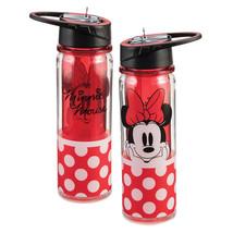 Walt Disney Classic Minnie Mouse 18 oz. Double Wall Tritan Water Bottle, UNUSED - $14.50
