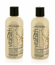 2 Bottles Vita Bath C UPC Ake Couture Vanilla Bourbon Body Wash Shower Gel 12 Oz Ea - $39.49