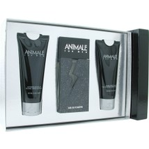 Animale By Animale Parfums Edt Spray 3.3 Oz & Aftershave Balm 3.4 Oz & B... - $42.31