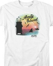 Jaws Amity Island 1975 American thriller Spielberg graphic t-shirt UNI1095 image 3