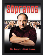 The Sopranos - The Complete First Season (DVD, 2000, 4-Disc Set, DVD Col... - $3.95