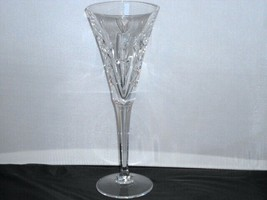 "Waterford Crystal Lincoln Commitment Single Champagne Flute Glass 9.25"" - $18.44"
