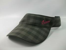 Green Plaid Nike Golf Visor Hat Cap - £11.55 GBP
